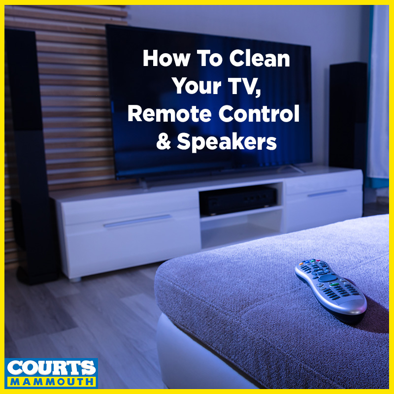 HOW TO CLEAN YOUR TV, REMOTE CONTROL & SPEAKERS?📺🔉